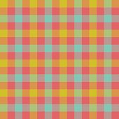 Check tablecloth seamless pattern
