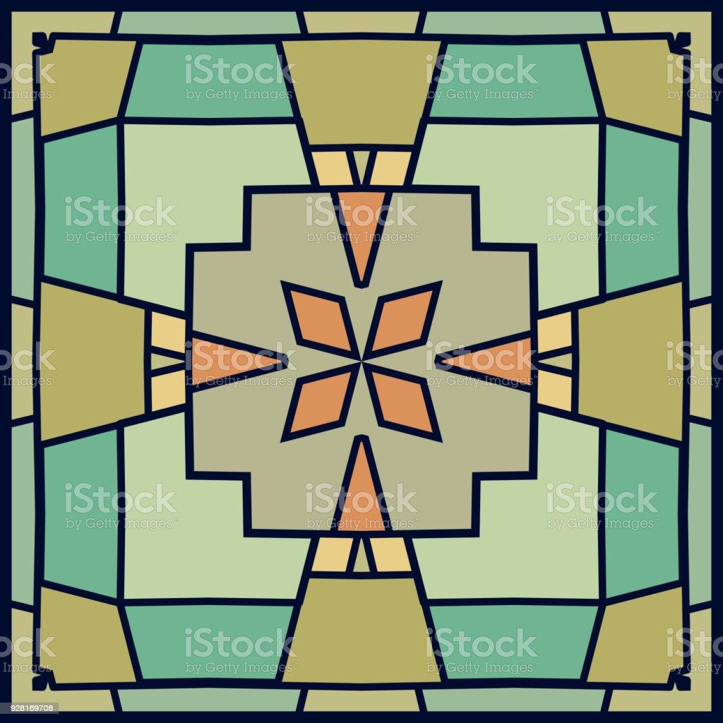 Checked pattern background vector art illustration