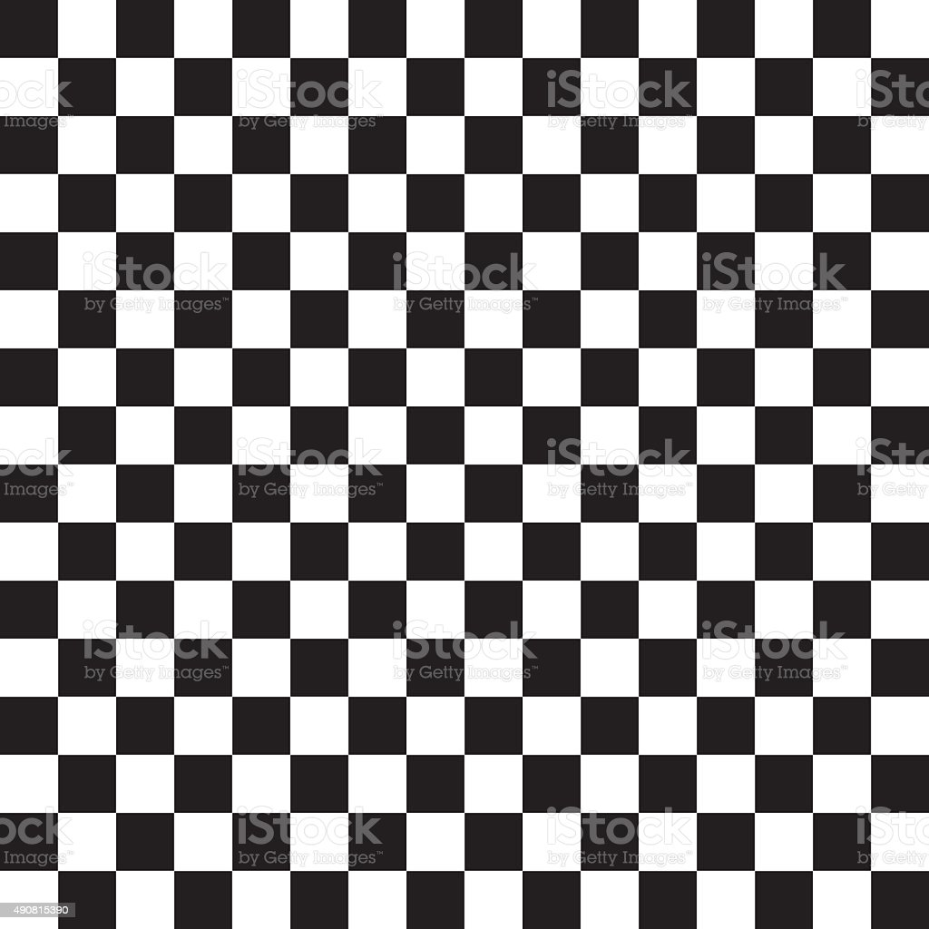 Checkered abstract background - Vector vector art illustration