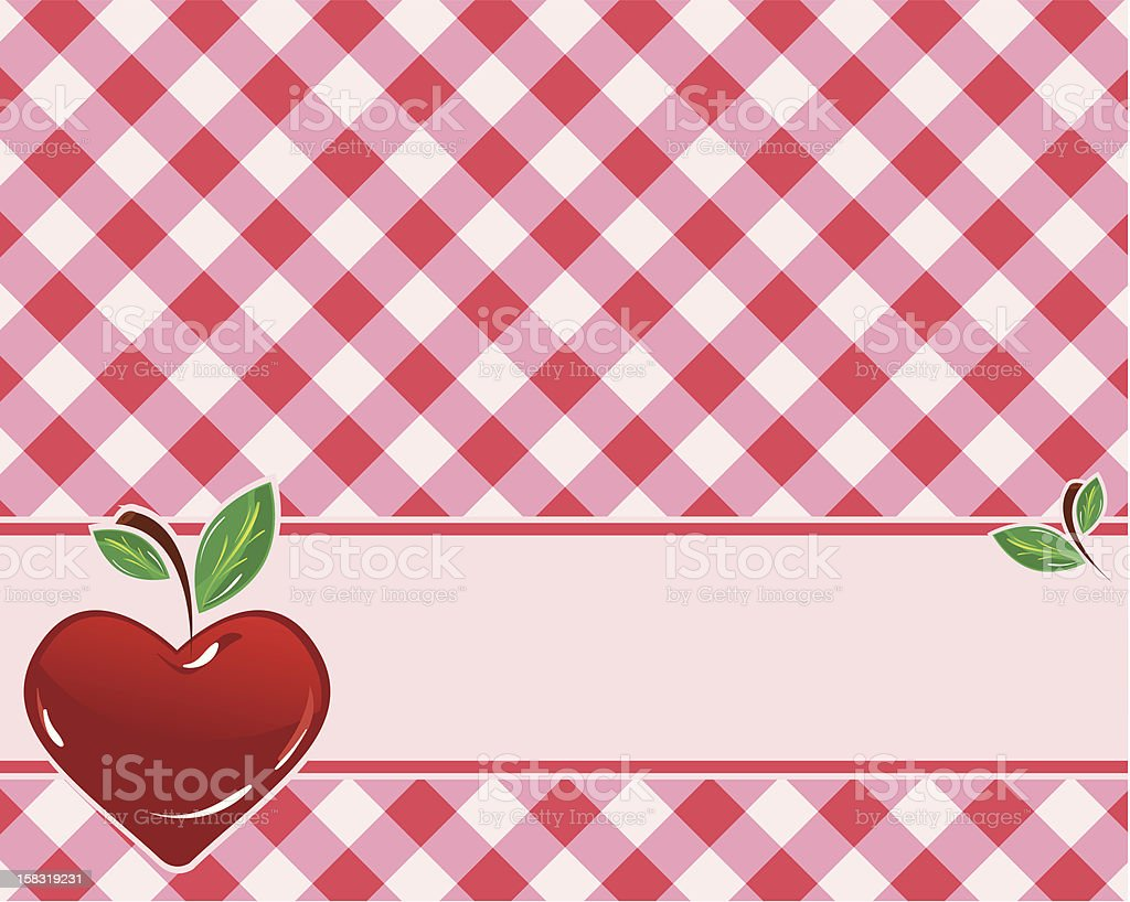 checkered background in red tones