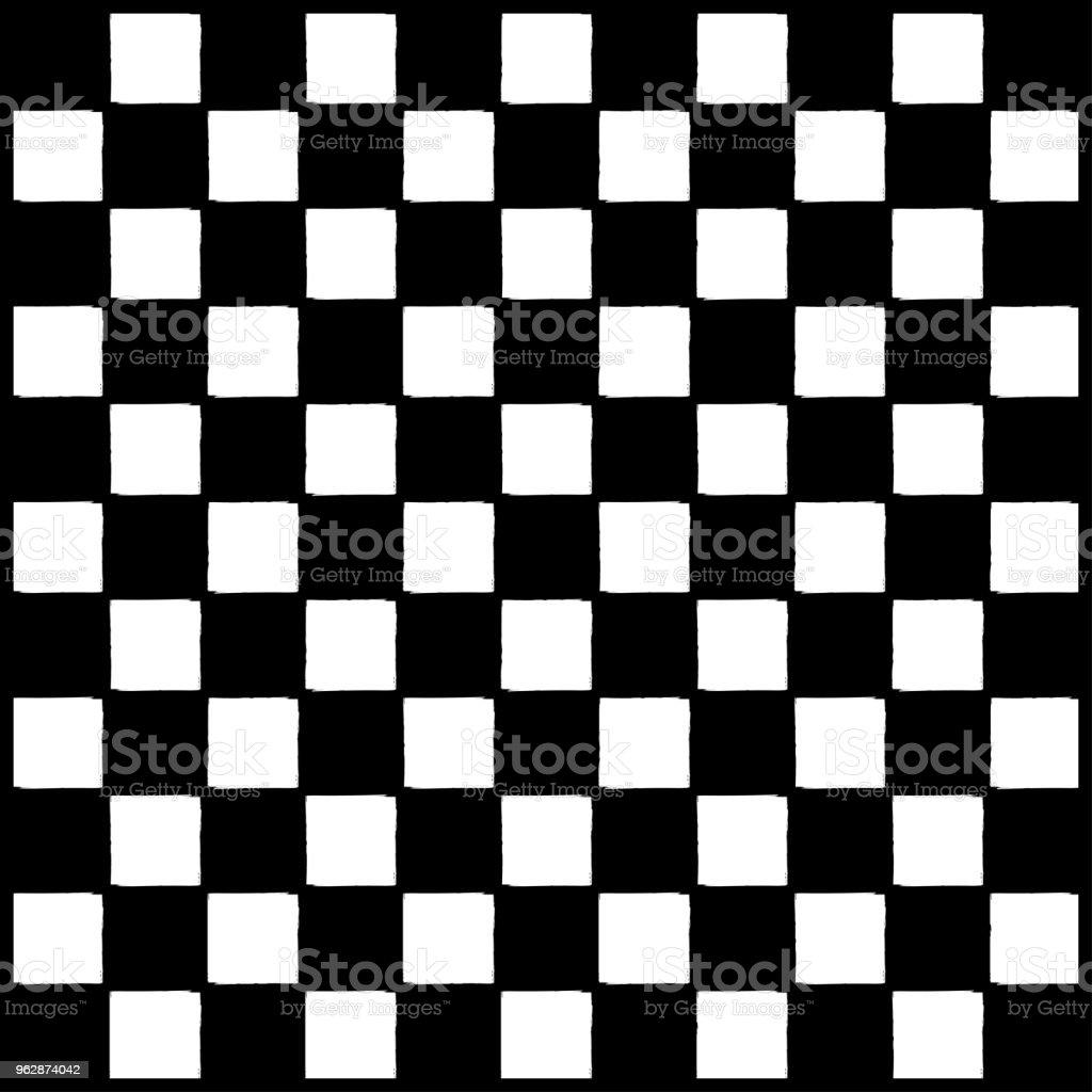 市松模様のチェス盤レースの背景の壁紙 ます目のベクターアート素材