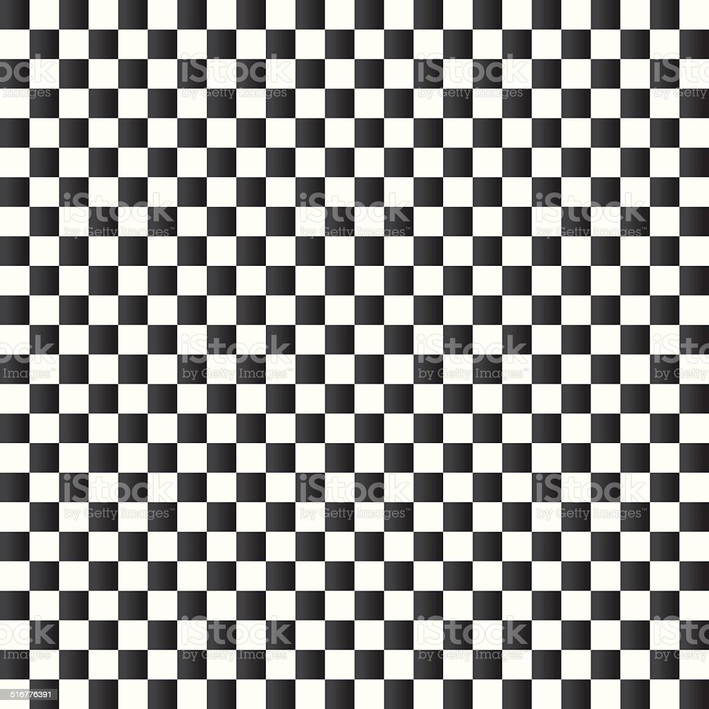 Checkered flag background. Seamless chessboard. vector art illustration
