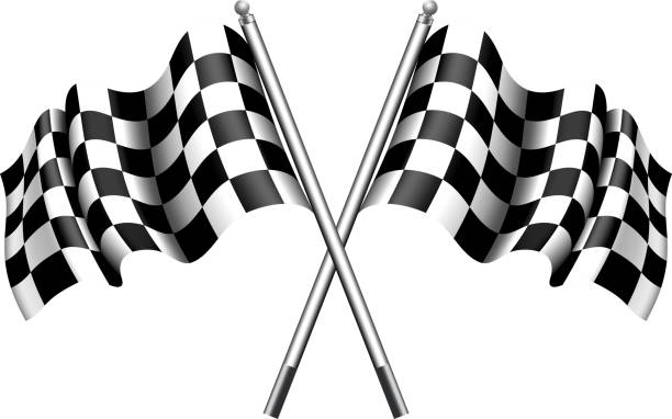 checkered flag motor racing - formula 1 幅插畫檔、美工圖案、卡通及圖標
