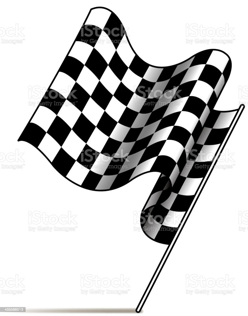 checkered flag royalty-free checkered flag stock vector art & more images of checked pattern