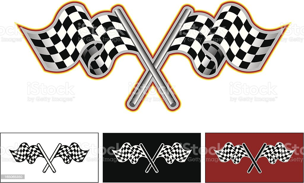 Checkered flags royalty-free checkered flags stock vector art & more images of aspirations