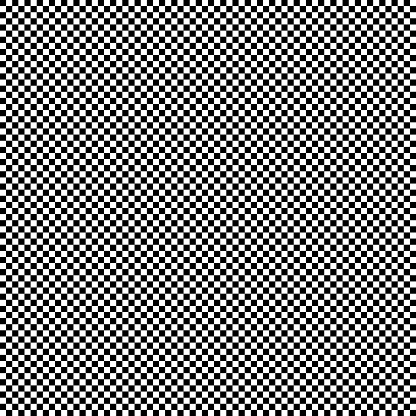 Checkered geometric seamless background with black and white tile