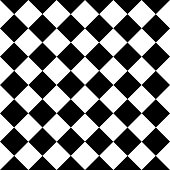 istock Checkered seamless background pattern of squares in diagonal arrangement 984436678