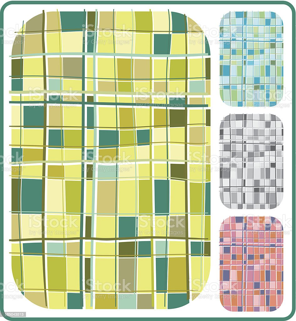 Checkerish, Plaidish, Colourfulish Background royalty-free stock vector art