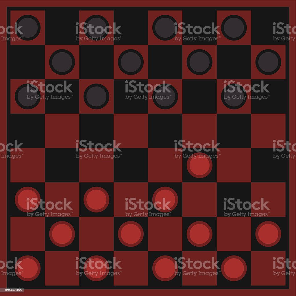 Checkers royalty-free checkers stock vector art & more images of activity