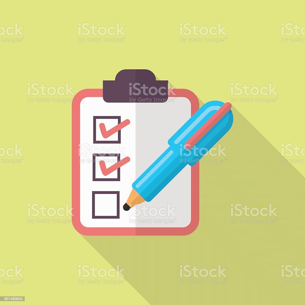 Checklist icona di checklist icona di - immagini vettoriali stock e altre immagini di assonometria royalty-free