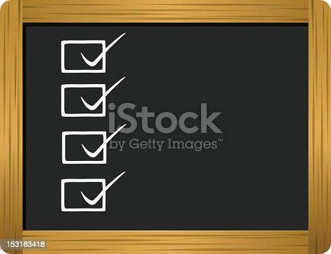 istock Checklist 153183418