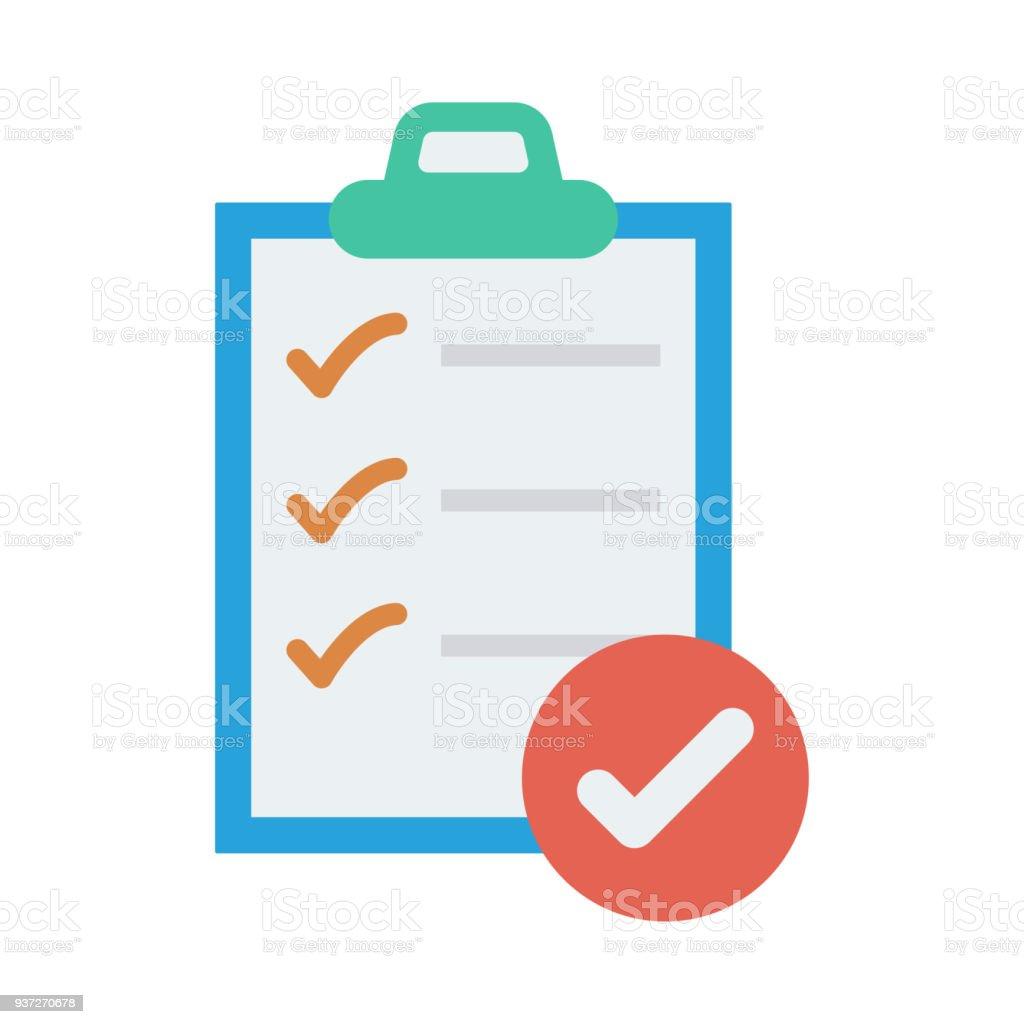 checklist royalty-free checklist stock illustration - download image now