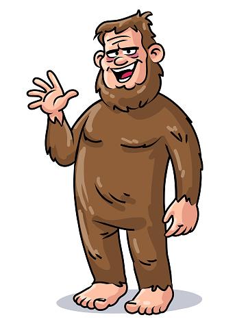 Cheerful Bigfoot