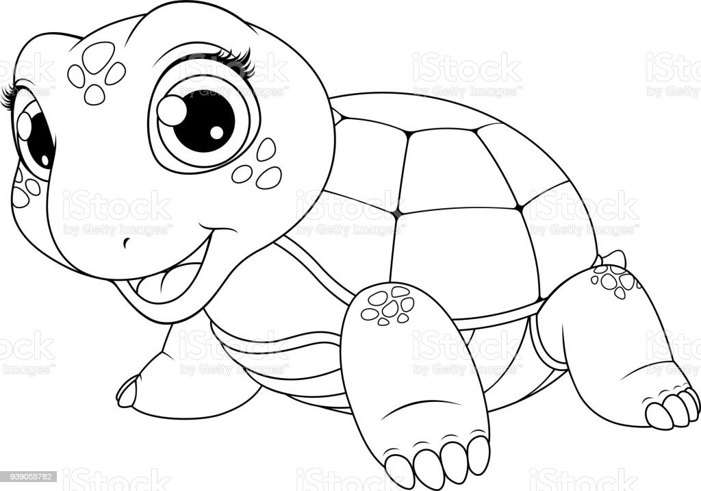 Cheerful Child Turtle Stock Illustration Download Image Now Istock