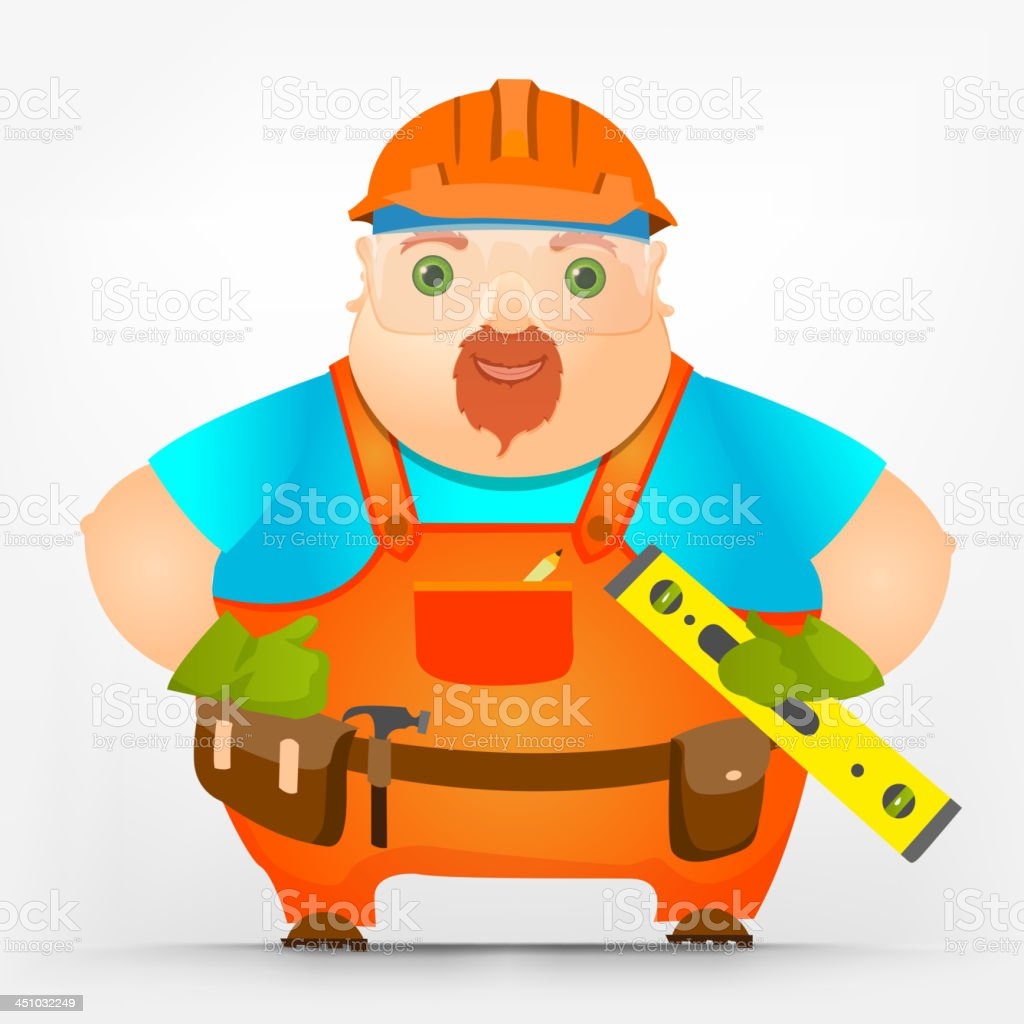 Cheerful Chubby Men royalty-free cheerful chubby men stock vector art & more images of adult