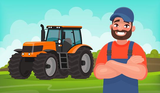 Farmer stock illustrations