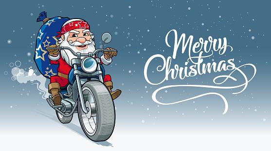 Cheerful Santa