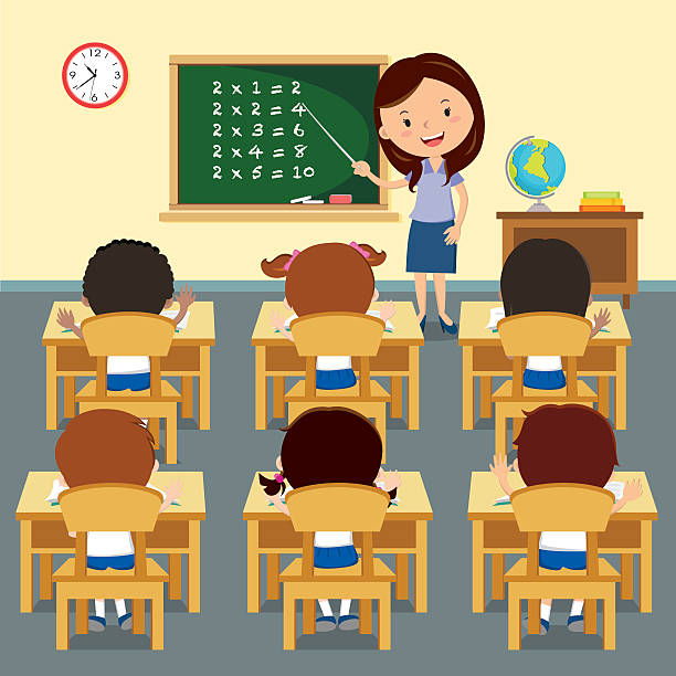 Royalty Free Elementary Classroom Clip Art, Vector Images ...
