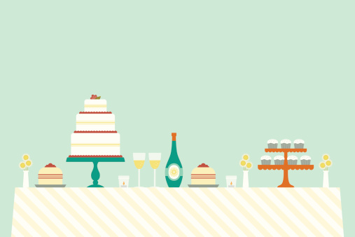 Cheerful Wedding Day Table