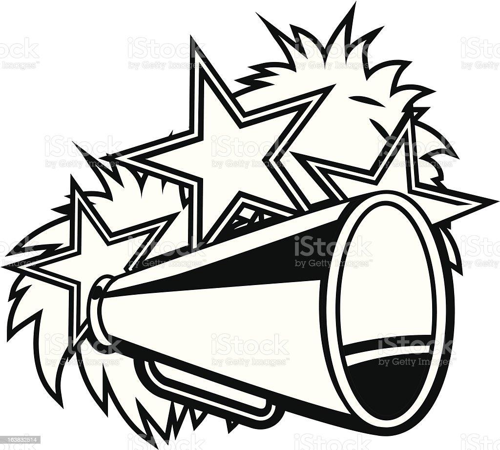 Cheerleader pompoms and megaphone black white stock vector art cheerleader pompoms and megaphone black white royalty free cheerleader pompoms and megaphone black white stock thecheapjerseys Gallery