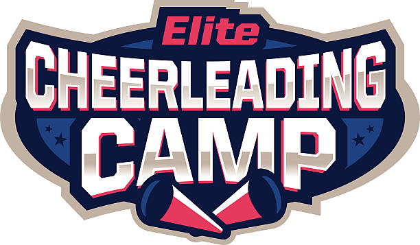 Cheerleading Camp Icon vector art illustration