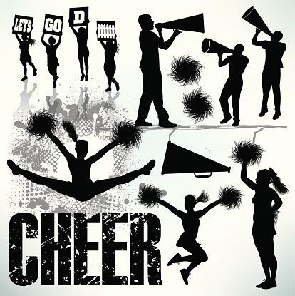 Cheerleading, Cheerleaders, Sports Set