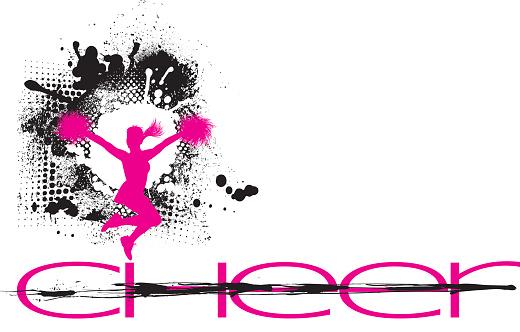 Cheerleading Grunge Graphic
