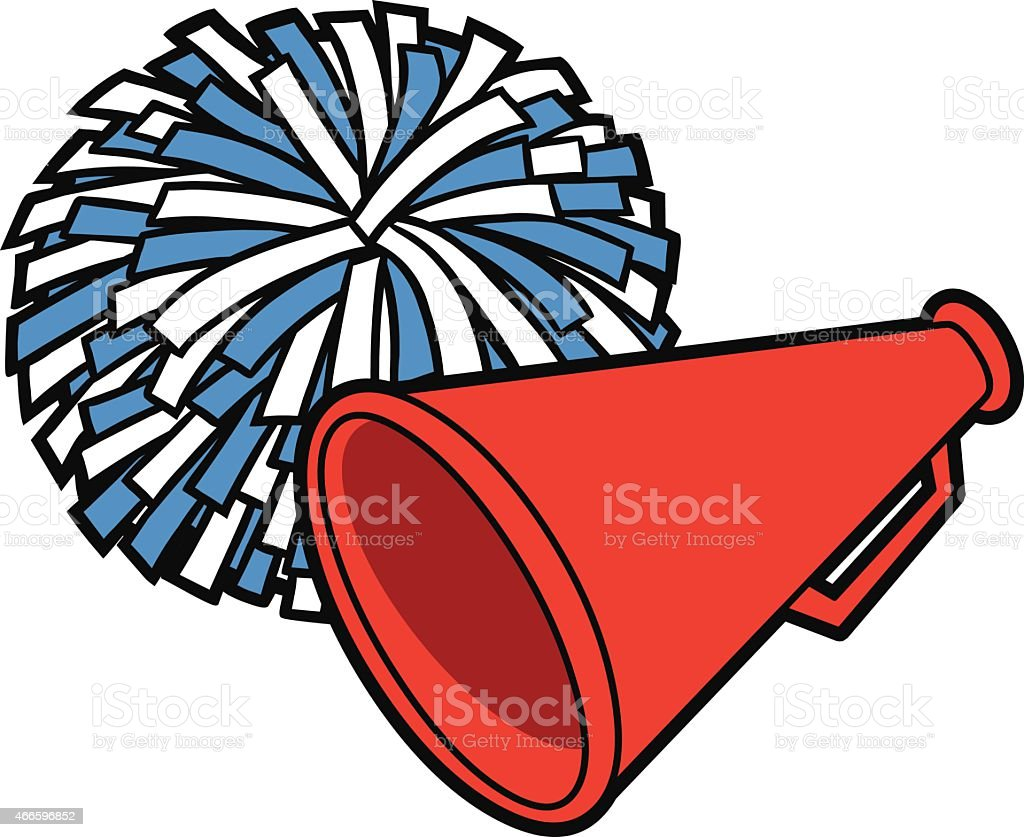 royalty free cheerleader clip art vector images illustrations rh istockphoto com clip art cheerleader pom poms clip art cheerleading stunts groups
