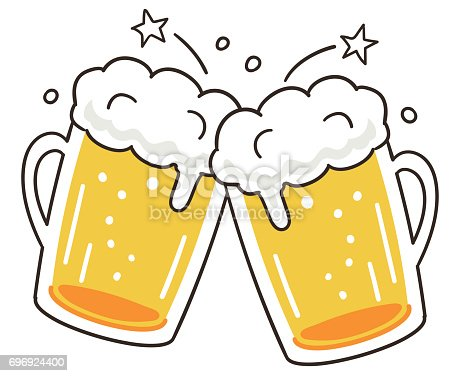 Cheers Beer Stock Vector Art & More Images of Beer ...