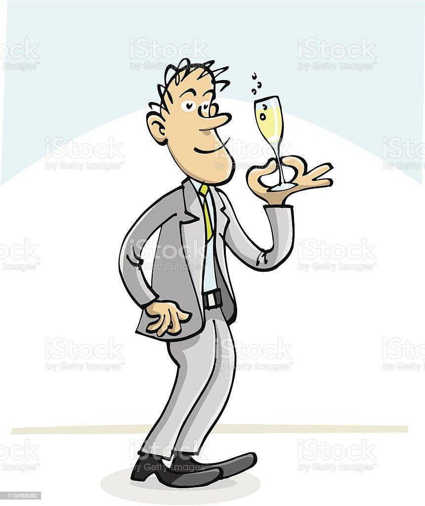 Cheers vector art illustration
