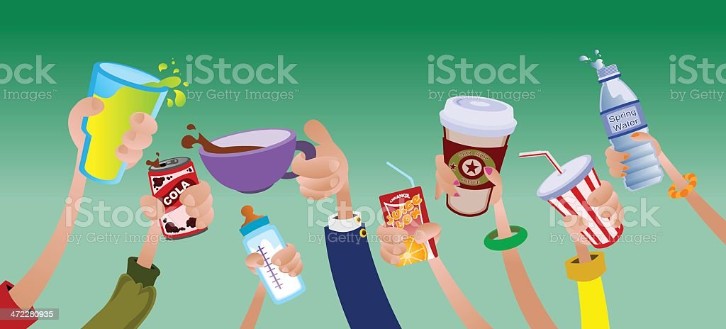 Cheers royalty-free cheers stock vector art & more images of cartoon
