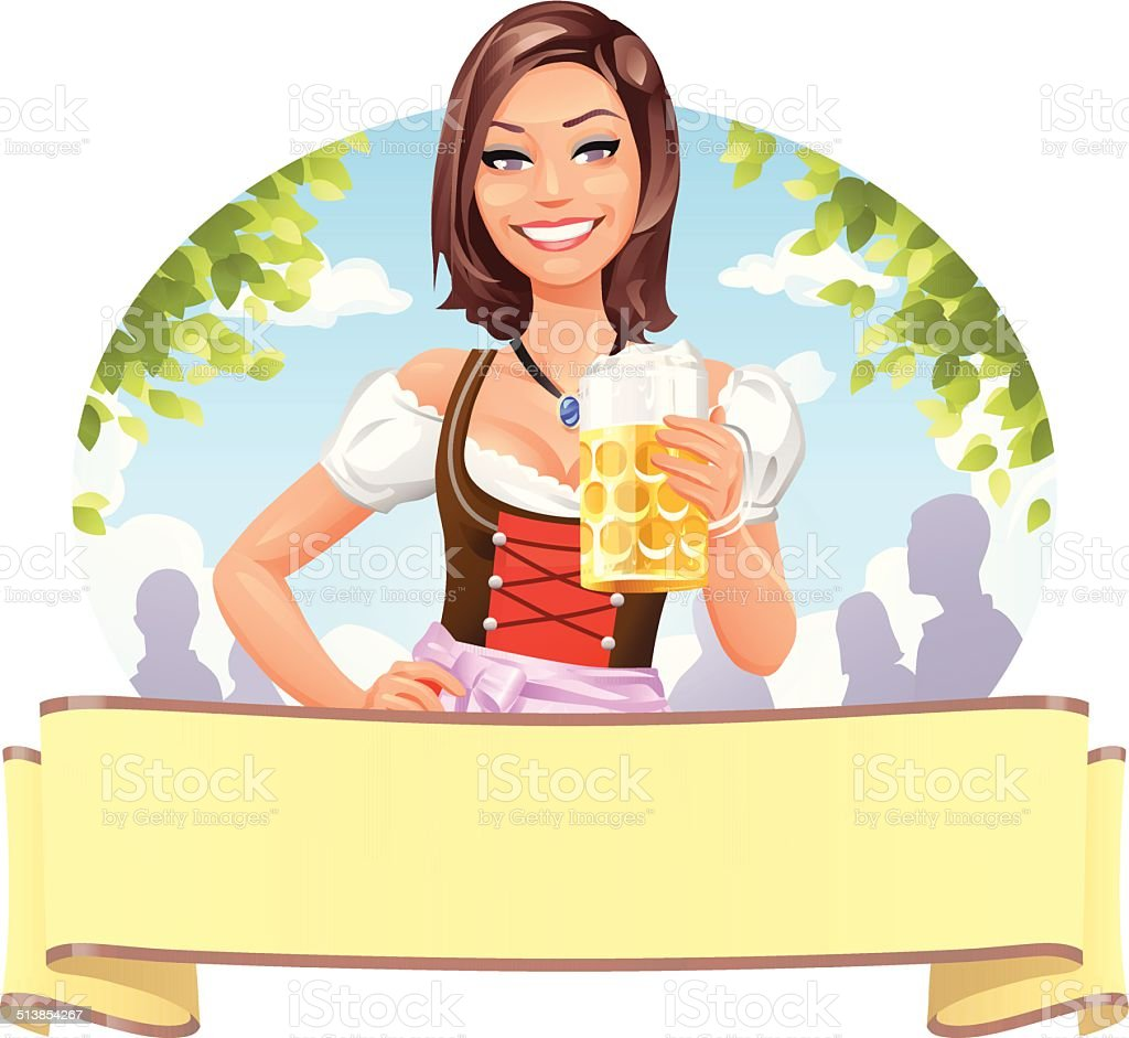 Cheers! vector art illustration
