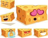 Cartoon Onigiri set including: