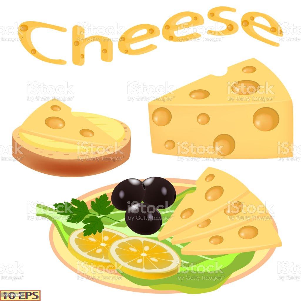 Käse Käse In Scheiben Geschnitten Für Sandwiches Und Tomatenscheiben ...