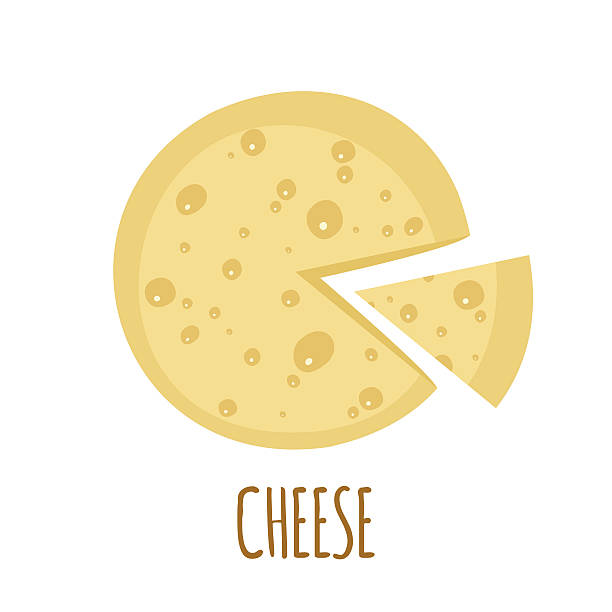 Cheese Wheel Clip Art : Royalty free cheddar cheese wheel clip art vector images