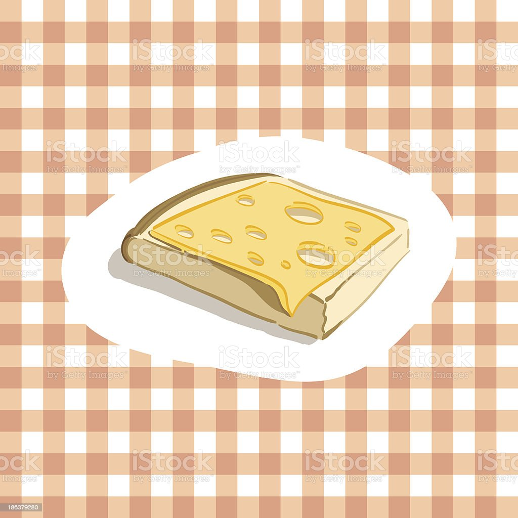 Cheese sandwich royalty-free cheese sandwich stock vector art & more images of backgrounds