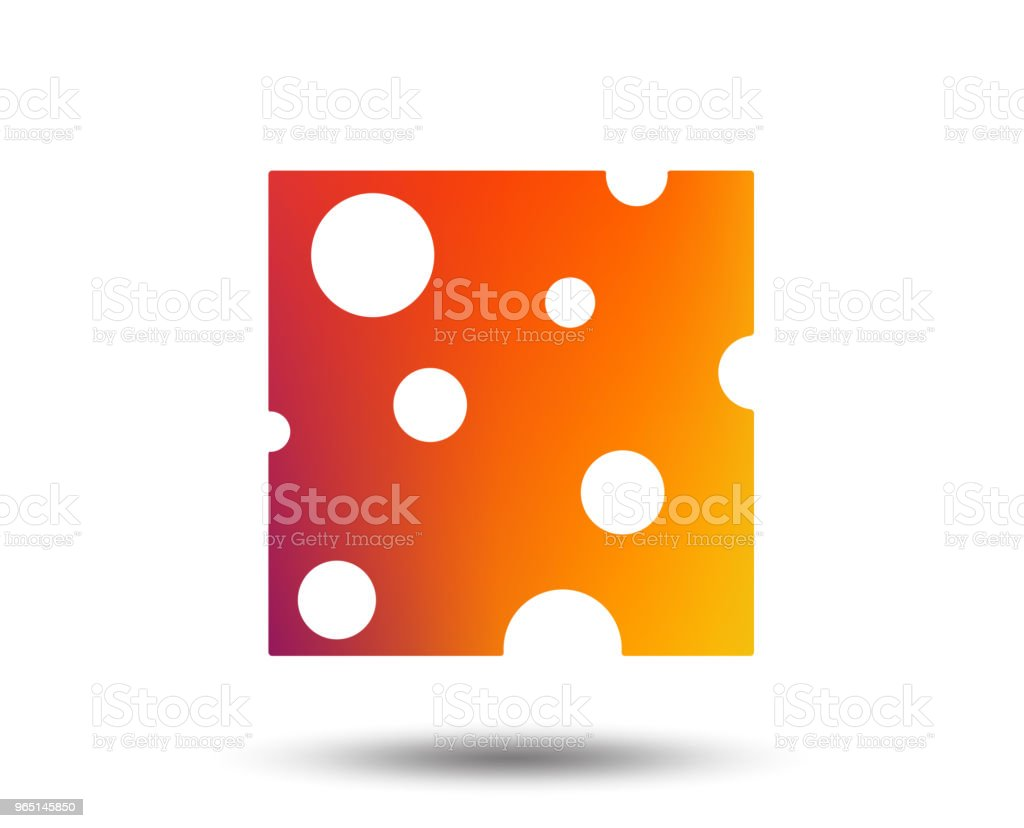 Cheese sign icon. Slice of cheese. royalty-free cheese sign icon slice of cheese stock vector art & more images of art
