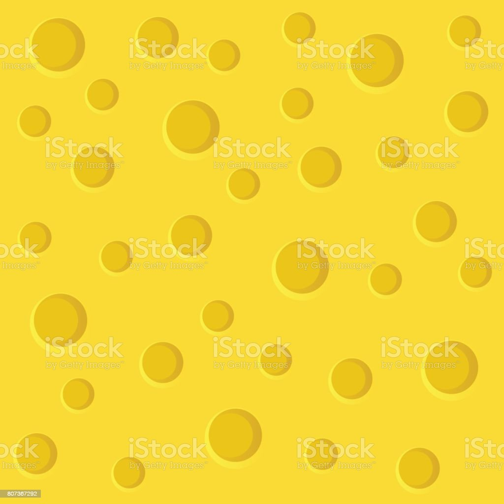 Cheese slice vector art illustration