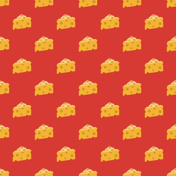 ilustraciones, imágenes clip art, dibujos animados e iconos de stock de queso español de patrones sin fisuras - comida española