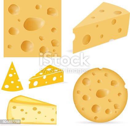 istock Cheese with holes 504857758