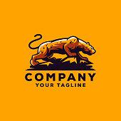 panther logo design