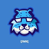 Cheetah mascot logo design vector with modern illustration concept style for badge, emblem and t shirt printing. Angry cheetah illustration for sport and e-sport team.