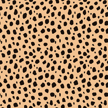Cheetah Print Seamless Pattern