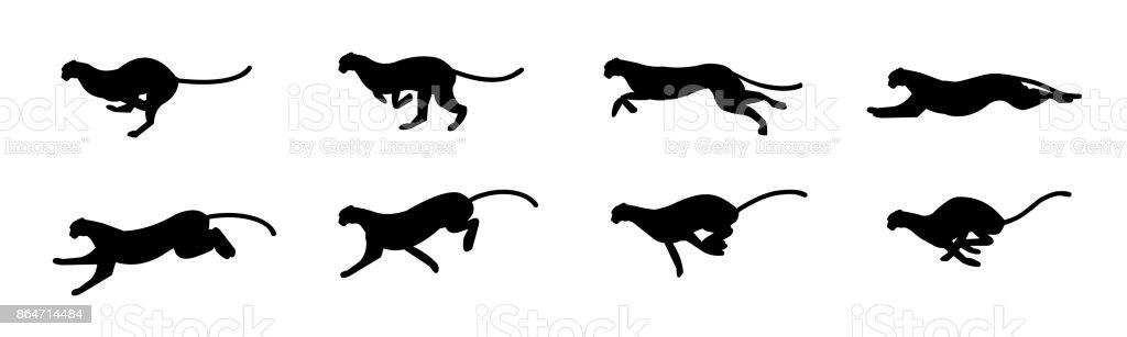 Cheetah run cycle