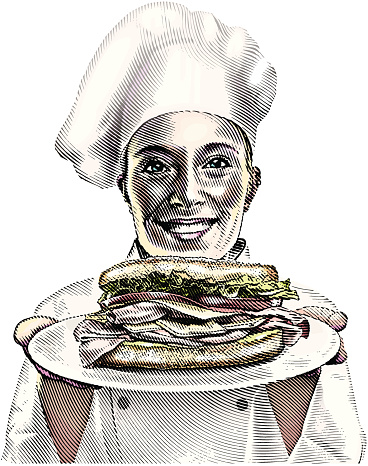 Chef and Sandwich