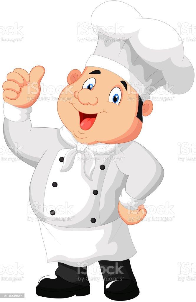 chef cuisinier de dessin anim pouce lev donner chef cuisinier de dessin anim pouce lev donner - Dessin Cuisinier