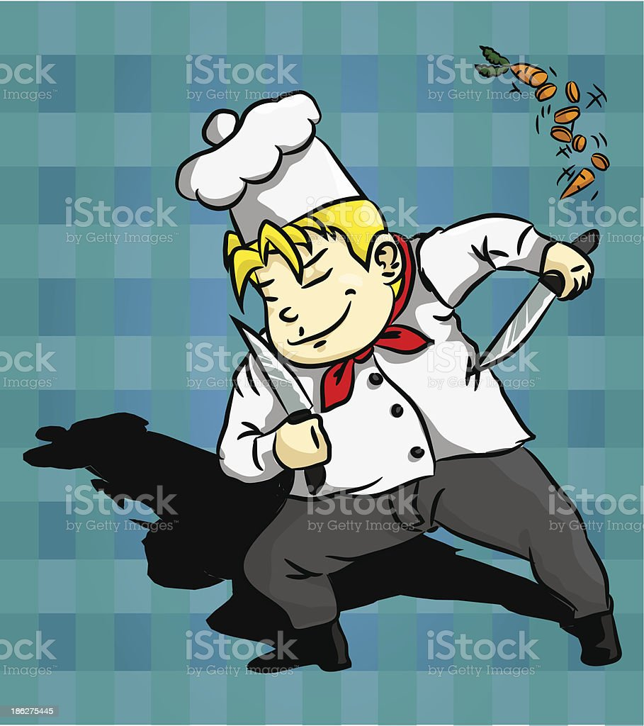 Chef Character royalty-free stock vector art