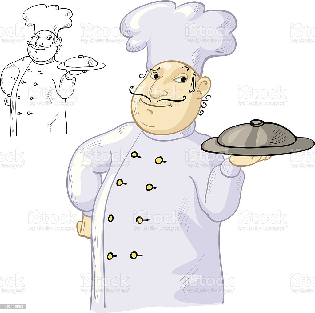 Chef cook royalty-free stock vector art