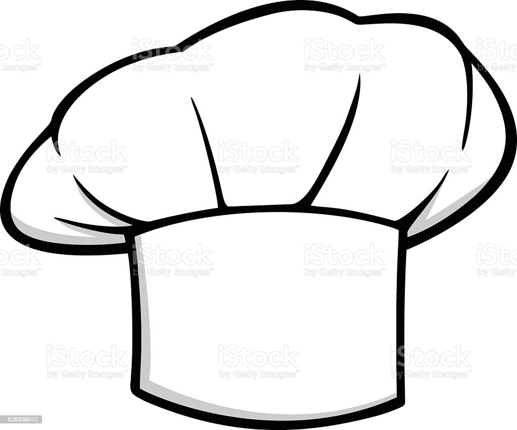 Chef hat icon stock vector art more images of arts for Chef hat template printable