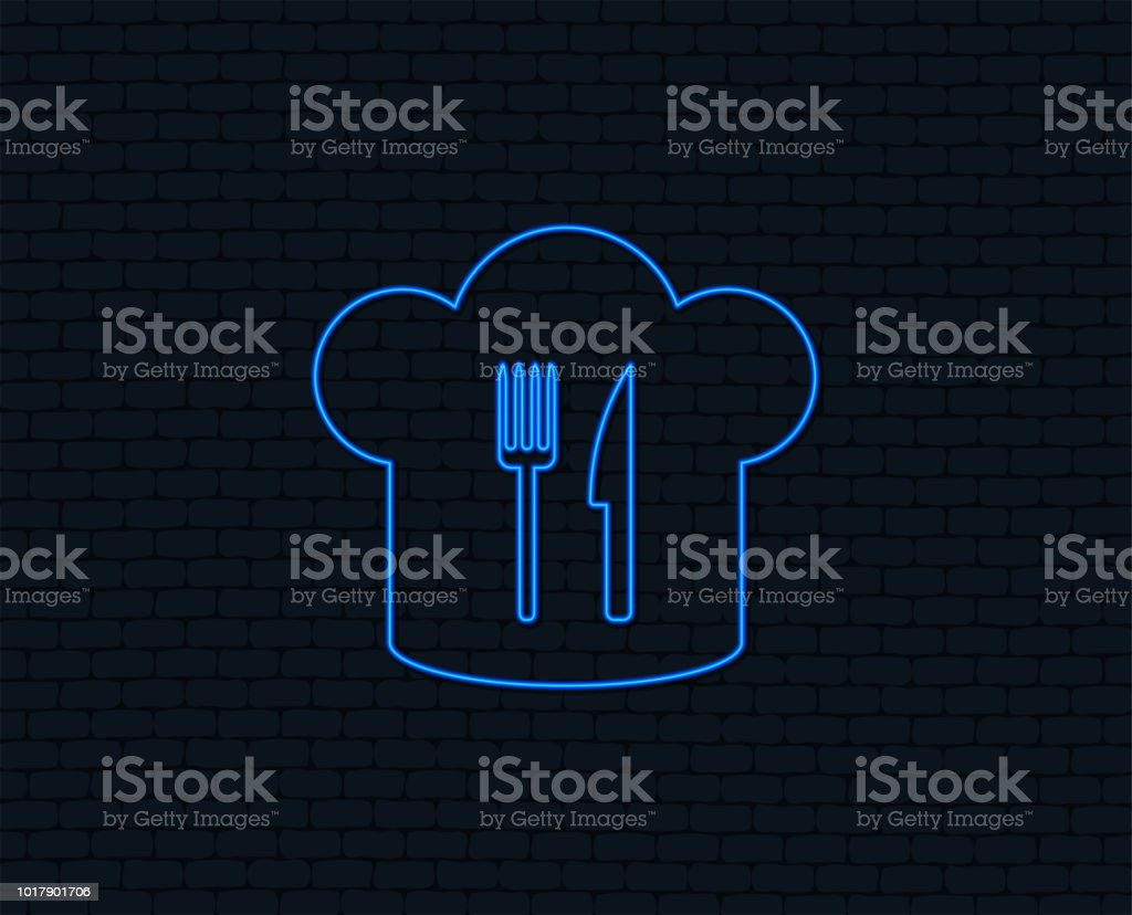 Chef Hat Sign Icon Cooking Symbol Stock Vector Art More Images Of